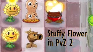getlinkyoutube.com-Plants vs. Zombies 2 TEXTURE CHANGING! — Stuffy Flower, Rock Pea, BBQ Stump