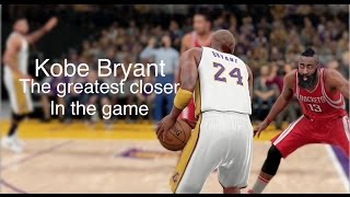 getlinkyoutube.com-NBA 2K16 Kobe Bryant - The greatest closer in the game!