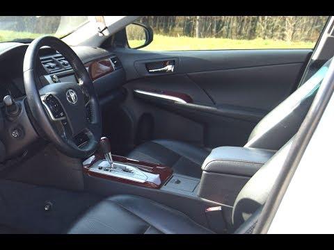 Ремонт подлокотников на Toyota Camry XV50/ Секрет/ Как снять крышку подлокотника на Тойота Камри