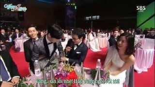 [vietsub] Jun Ji Hyun [SBS Drama Awards 2014] - Interview (Aegyo moment)