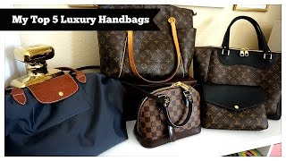 getlinkyoutube.com-Top 5 Favorite Luxury Handbags!
