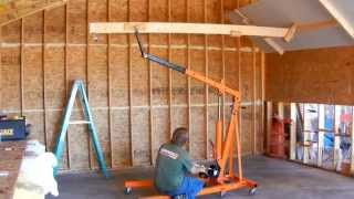 getlinkyoutube.com-Low Cost DIY Drywall Lift