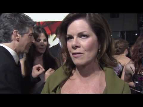 Marcia Gay Harden Interview at 'The Descendants' Premiere