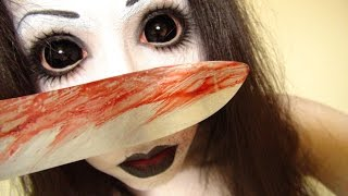 getlinkyoutube.com-ジェーンザキラーメイク方法(化粧)Jane The Killer Makeup Tutorial