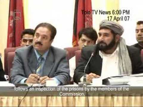 Tolo News clip of 17 April 2007 with English Subtitles
