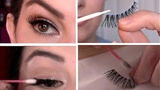 getlinkyoutube.com-False Eyelashes 101: Select, Apply, Remove, Clean