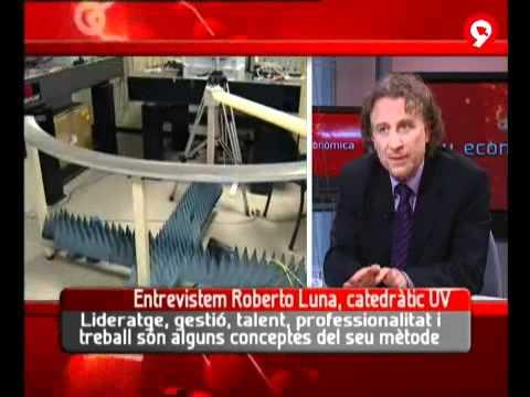 Entrevista a Roberto Luna en RTVV