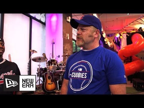 Nick Offerman Visits the MLB Fan Cave