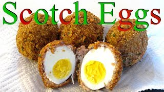 getlinkyoutube.com-Scotch Eggs - Classic Fried Egg, Sausage and Breading - PoorMansGourmet