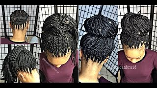 getlinkyoutube.com-#121. YOU CAN'T TELL  IT'S CROCHET TWIST