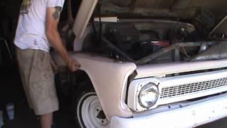 getlinkyoutube.com-1960 to 1966 front fender rust repair part 1