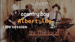 getlinkyoutube.com-Country boy (Albert lee) cover(live) by The local @noydio