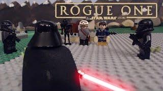 getlinkyoutube.com-LEGO Star Wars Rogue One:  The Vader Encounter...
