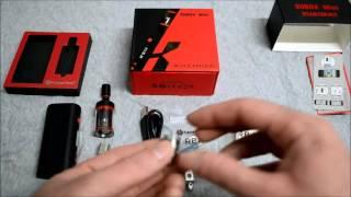getlinkyoutube.com-Kanger Subox Mini 50W Variable Wattage Box Mod Kit VV VW Mod with Subtank Mini RBA