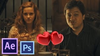 getlinkyoutube.com-After Effects TUTORIALS - How to Put Yourself Inside Any Movies