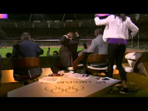London 2012 Olympics - Mo Farah - BBC Olympics experts go crazy for win