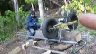 getlinkyoutube.com-Jaimie Whips out his Lumber Mill  Mmmmm.... Wood