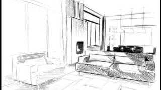 tutorial sur lart de la perspective et des ombres portes - Dessiner Une Piece En Perspective Frontale