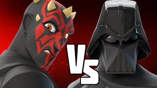 getlinkyoutube.com-DARTH MAUL VS DARTH VADER - Disney Infinity BATTLES!