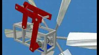 getlinkyoutube.com-autodesk Inventor wind turbine water pump windmill