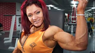 getlinkyoutube.com-Great female muscles in action