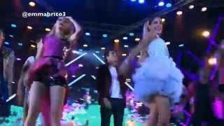 """getlinkyoutube.com-Violetta 3 - Los chicos cantan """"Crecimos juntos"""" en el show de Sevilla (03x80)"""