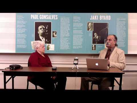 Interview with Barbara Kidd Seddon Treasurer for Berkshires Jazz Inc. and Daughter of Radio Host David Kidd
