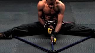 Using A Blitz Sport Leg Stretcher