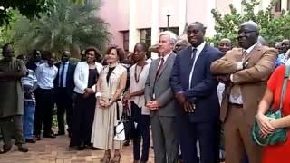 Malibuzz TV était en direct: Cérémonie d'adieu a Cérémonie d'adieu à Lazare Eloundou, Chef du bureau de l´UNESCO au Mali