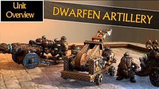 getlinkyoutube.com-DWARFEN ARTILLERY - Unit Overview - Total War: Warhammer (Bolt Thrower, Grudge Thrower & Cannon)