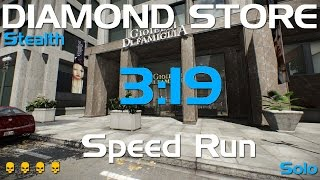 getlinkyoutube.com-Payday 2 - Diamond Store - DeathWish Solo Stealth Speedrun- 3:19 GT