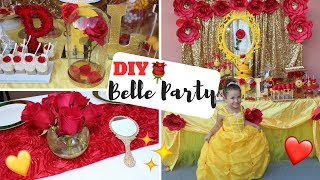 DIY | Beauty and the Beast Party width=