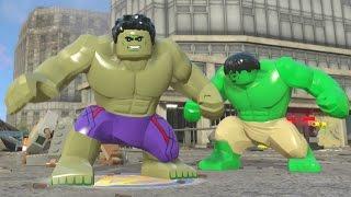 getlinkyoutube.com-LEGO Marvel's Avengers - Hulk Open World Super Jumping (Character Showcase)