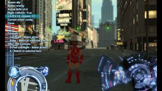getlinkyoutube.com-Test mod Iron Man trong GTA IV