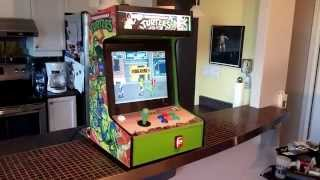 getlinkyoutube.com-TMNT Bartop Arcade