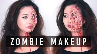 Sexy Zombie Makeup Tutorial for Halloween | Wishtrend