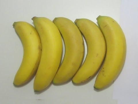 كيف تطيل عمر الموز ?!