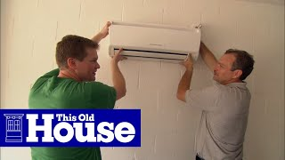getlinkyoutube.com-How to Install a Ductless Mini-Split Air Conditioner - This Old House