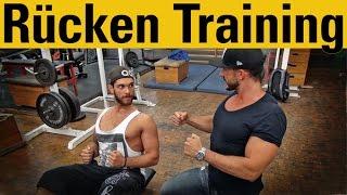 getlinkyoutube.com-Rücken Workout mit Luigi Coppola - die besten Übungen für mehr Pump