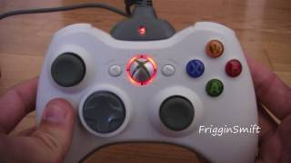 getlinkyoutube.com-Moddified XBOX 360 Controller with LEDs and Hidden Batteries
