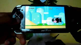 getlinkyoutube.com-Super Mario World - SNES no PSP