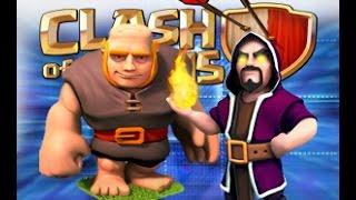 getlinkyoutube.com-Gigantes con Magos | Clash of clans |