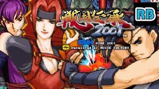 2001 [60fps] Sengoku Denshou 2001 2Players Lv8 Nomiss ALL