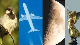 getlinkyoutube.com-NIKON Coolpix P900 Optical Zoom Test - Moon, Planes, Bird, Church - Super Zoom