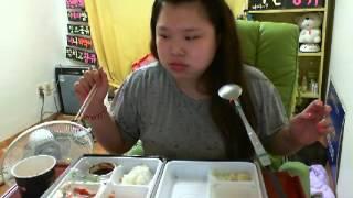 getlinkyoutube.com-왕쥬 돈가스 초밥 먹방 mukbang