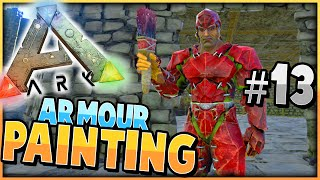 getlinkyoutube.com-ARK: Survival Evolved | PAINTING ARMOUR DINO'S | S2 Ep 13 |