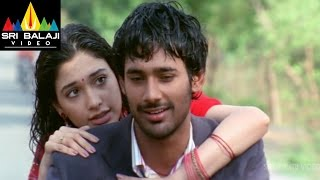 Happy Days Movie Tamanna Kiss Proposal to Varun Sandesh | Varun Sandesh,Tamannah | Sri Balaji Video