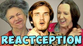 getlinkyoutube.com-PewDiePie Reacts To: Elders React To: PewDiePie... | PewDiePie
