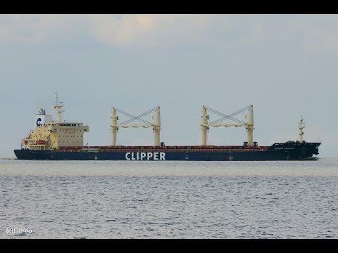 Click to view video CLIPPER TRIUMPH - IMO 9406025 - Germany - Elbe - Otterndorf