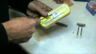 getlinkyoutube.com-How to build a tin pop pop boat